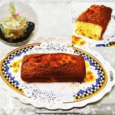しっとり柔らかパウンドケーキ