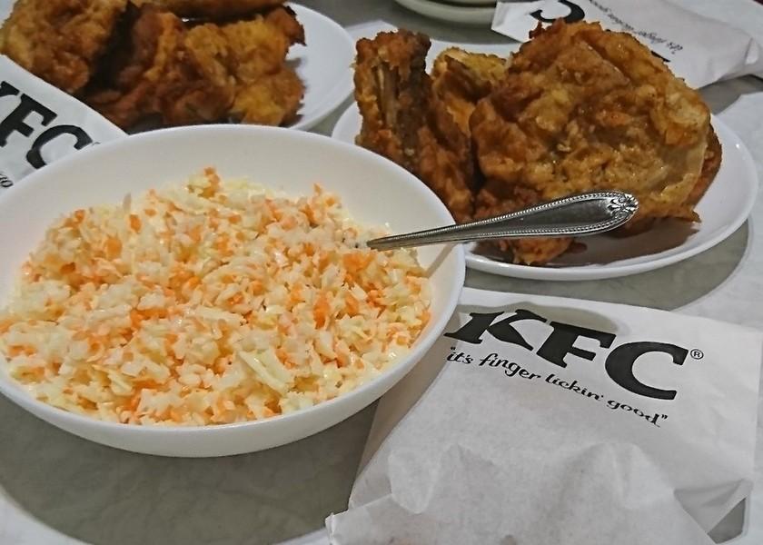 ✽簡単っす!KFC風コールスロー