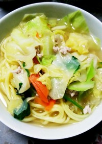 簡単 野菜タンメン