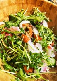 5分で完成!さっぱり夏野菜と鯛のサラダ