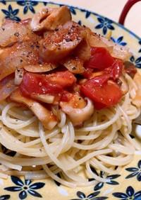 まるごとトマトのスパゲッティ