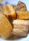 ガッツリご飯がすすむ!簡単!豚の角煮大根