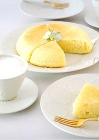 炊飯器de簡単♡ふわふわ♪チーズ蒸しパン