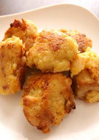 タモリさんの唐揚げレシピで☆豆腐の唐焼き