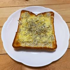 じゃこチーズトースト