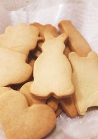 簡単*米粉クッキー*型抜きしやすい♪