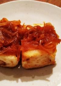 簡単!木綿豆腐のお豆腐ステーキ!