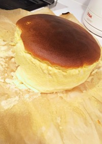 節約☆しゅわしゅわスフレチーズケーキ
