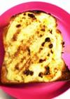 練乳チーズトースト