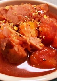 トマトとベーコンのファイトケミカルスープ