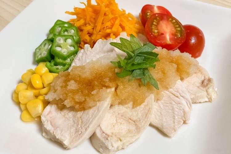 チキン 圧力 鍋 サラダ