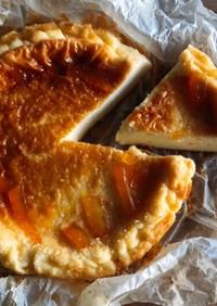 糖質オフのママレードベイクドチーズケーキ