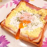 卵がとろける!!*マヨベーコントーストの写真