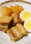 フライパンで簡単♡豚バラ肉と大根の角煮