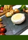 カマンベールでチーズフォンデュ