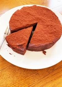 ⭐とろーり濃厚生チョコケーキ