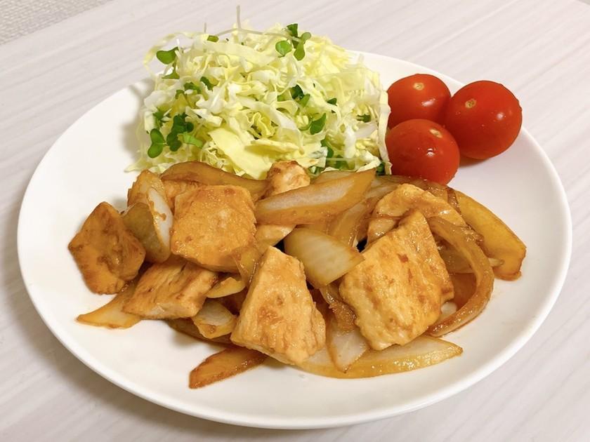 ダイエットおかず*鶏胸肉の生姜焼き