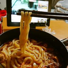 四川風麻婆豆腐煮込みうどん