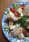 夏にぴったり~簡単冷やし水餃子サラダ