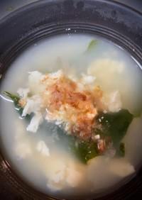 超絶簡単!おぼろ豆腐のスープ