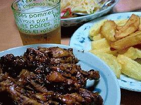 チキンの梅肉エキス煮