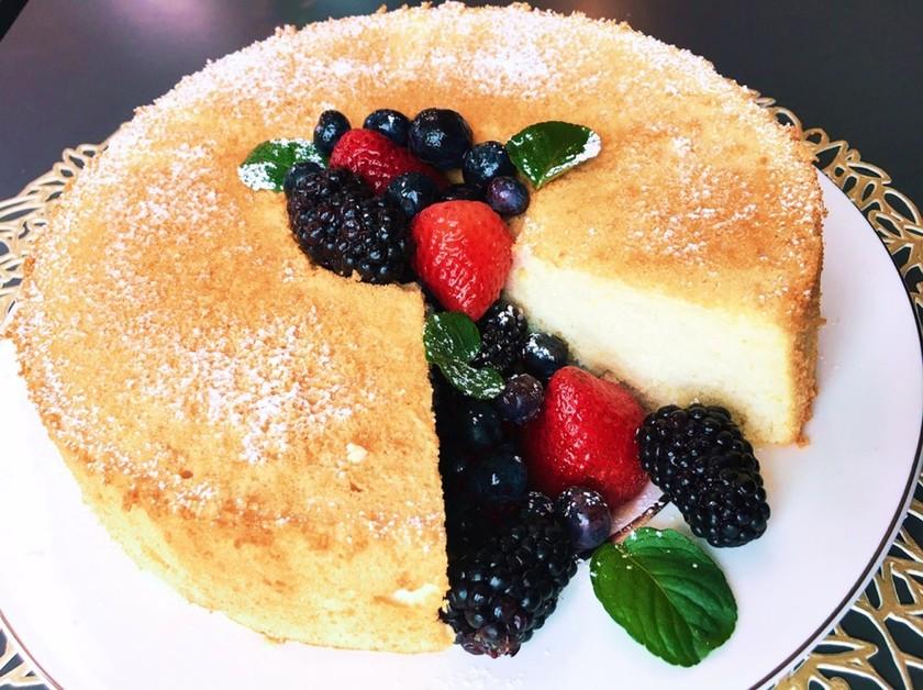 エンゼルフードケーキ♡甘さ控えめ♡