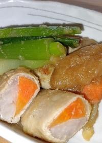 野菜の肉巻き大根おろし煮