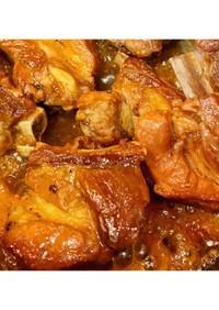 簡単♬少ない調味料で!スペアリブの黒酢煮