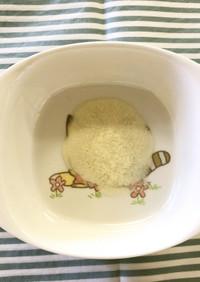 【離乳食初期】豆腐のとろとろ