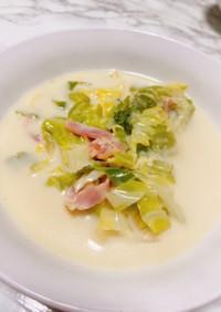 肌にハリ♡超簡単豆乳スープ