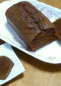 絶品!チョコレートのパウンドケーキ