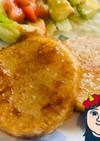 黒糖醤油ソースで食べる 大根ステーキ