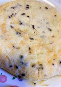 炊飯器と小麦粉でパンケーキ風おやつ