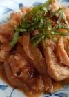 玉ねぎたっぷり豚コマの柔らか生姜焼き