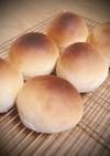 薄力粉で作る、シンプルな丸パン。
