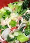 レンジで出来る小松菜サラダ