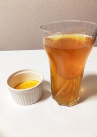 簡単おいしいオレンジティーソーダ