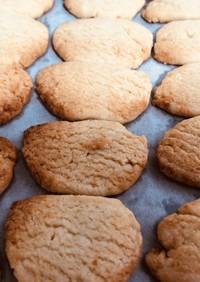 材料5つ*酒粕クッキー*サラダ油使用*