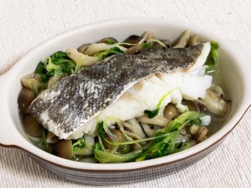 簡単ヘルシー☆油で焼かない鱈の中華風焼き