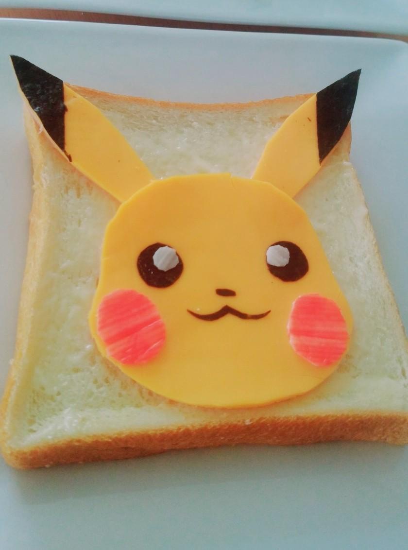 朝ごはんに♪ピカチュウパン