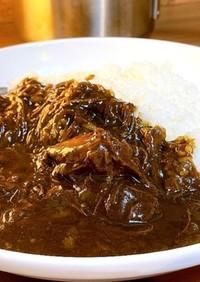 牛すじ肉のカレー(カレールーで代用可能)