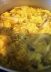 簡単中華・ブナシメジと卵のリゾット