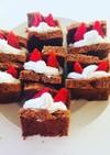 卵白消費ココアシフォンケーキ