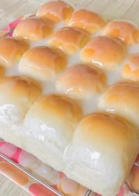 グレーズクリームパン・クリームちぎりパン