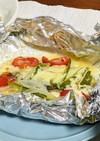 鱈のチーズホイル焼き