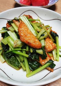 10分でできるタア菜のササッと煮