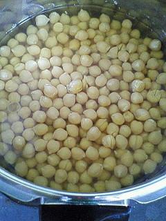 ひよこ豆の茹で方(圧力鍋)