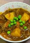 長芋と牛肉のカレー煮込