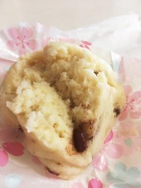 バニラ(プレーン)袋で簡単蒸しパン