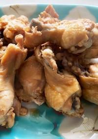 チューリップ(鶏手羽元)のサッパリ煮♬